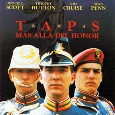 Cine: DVD TAPS (MÁS ALLÁ DEL HONOR) TOM CRUISE . Lote 76073359