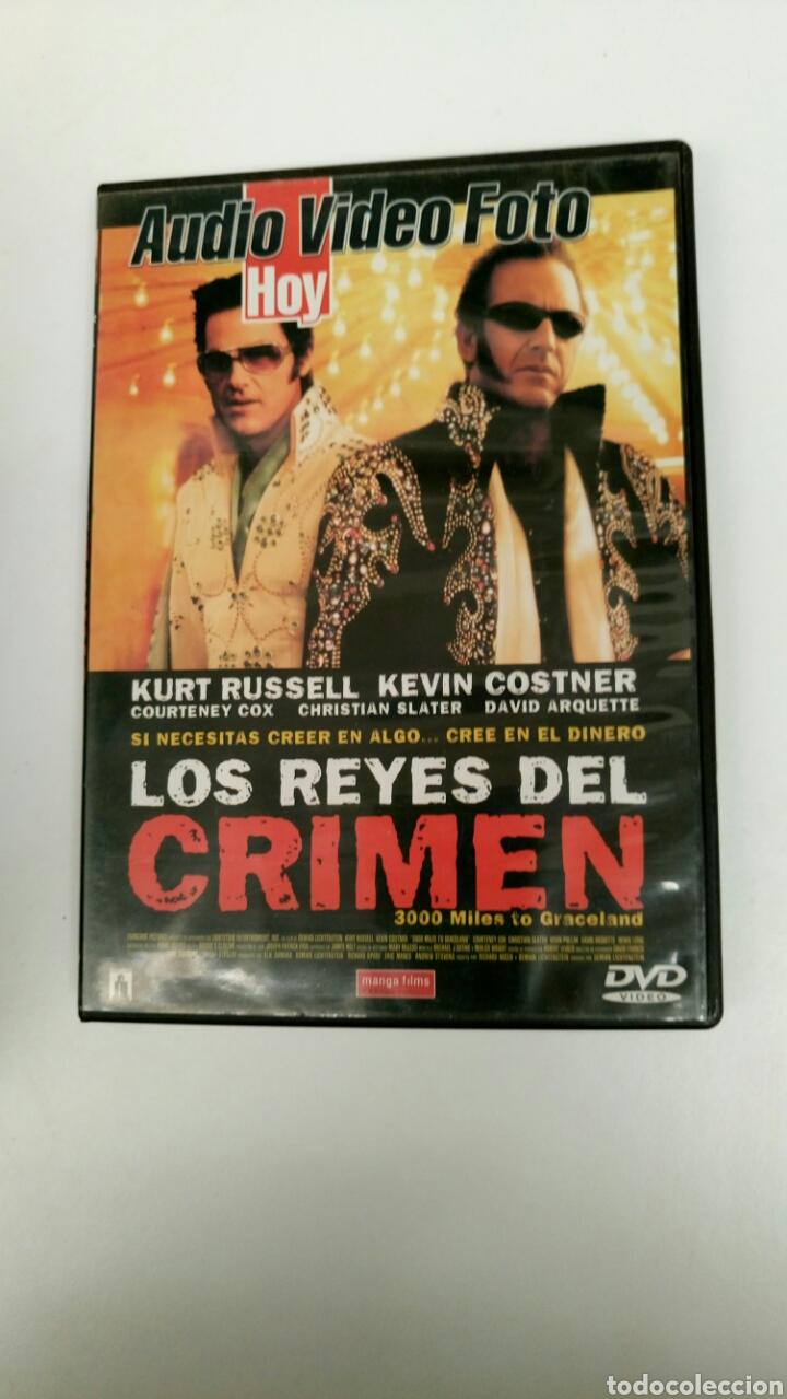 LOS REYES DEL CRIMEN, CON KURT RUSSELL Y KEVIN COSTNER. (Cine - Películas - DVD)