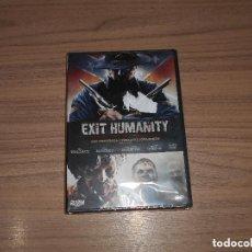 Cine: EXIT HUMANITY DVD TERROR ZOMBIE NUEVA PRECINTADA. Lote 222054408