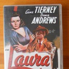 Cine: DVD LAURA - GENE TIERNEY - DANA ANDREWS (2 DISCOS) (T7). Lote 76462439