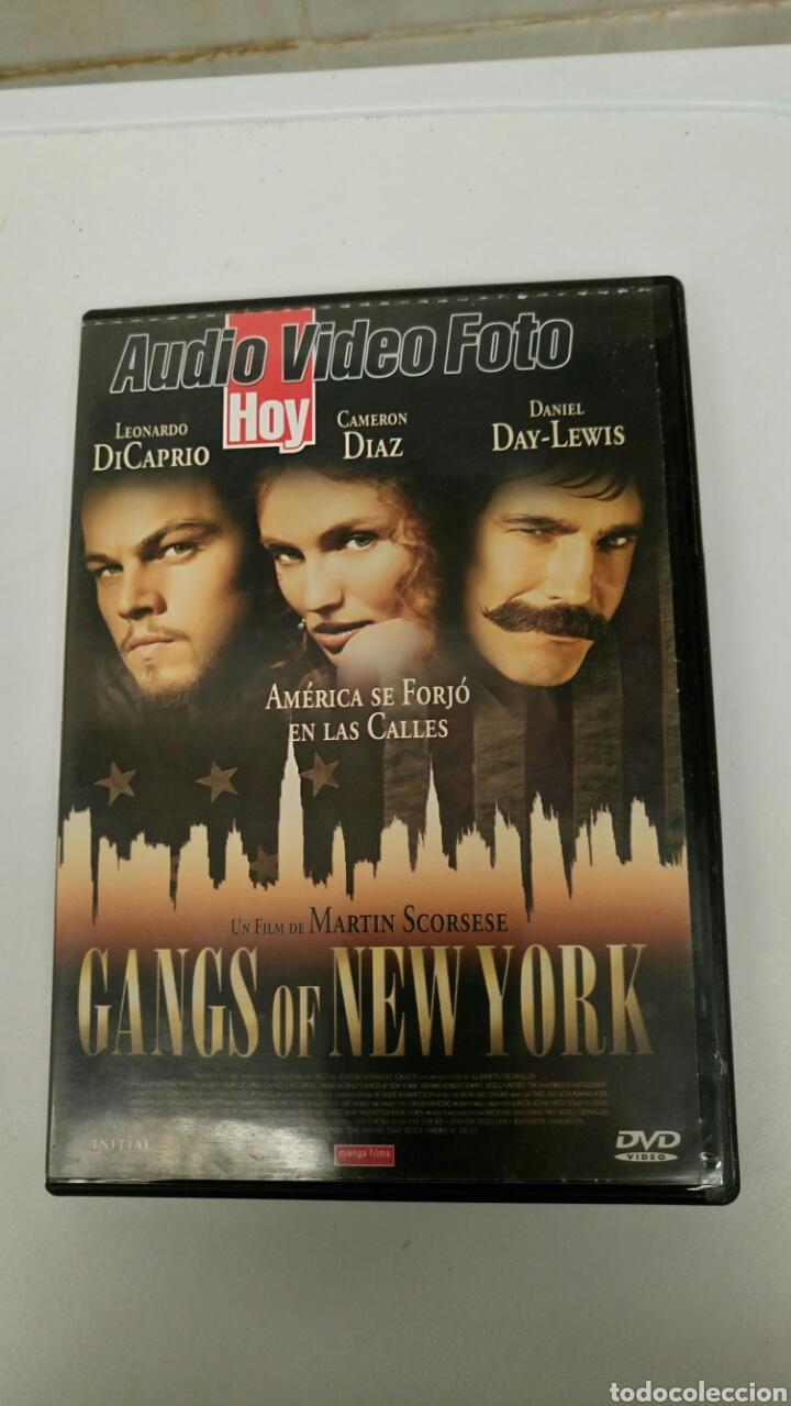 GANGS OF NEW YORK, CON LEONARDO DICAPRIO, CAMERON DIAZ Y DANIEL DAY-LEWIS. (Cine - Películas - DVD)