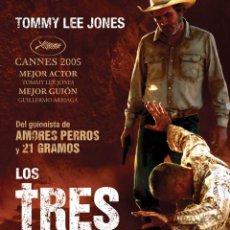 Cine: LOS TRES ENTIERROS DE MELQUIADES ESTRADA **DE TOMMY LEE JONES. Lote 76519235
