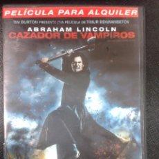 Cine: ABRAHAM LINCOLN CAZADOR DE VAMPIROS. Lote 76634027