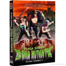 Cine: PLAGA ZOMBIE - ZONA MUTANTE - DVD. Lote 240164475