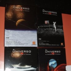 Cine: 4 PACK 13 DVDS COLECCION COMPLETA EL UNIVERSO CANAL DE HISTORIA. Lote 76793243