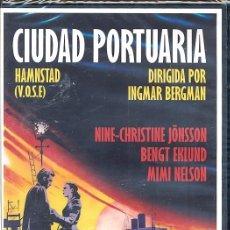 Cine: CIUDAD PORTUARIA DVD (IGMAR BERGMAN) -BASADO EN UNA EXITOSA NOVELA..CON EL SELLO DEL MAESTRO BERGMAN. Lote 76842799