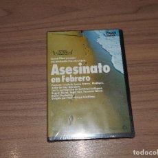 Cine: ASESINATO EN FEBRERO DVD NUEVA PRECINTADA. Lote 186089988