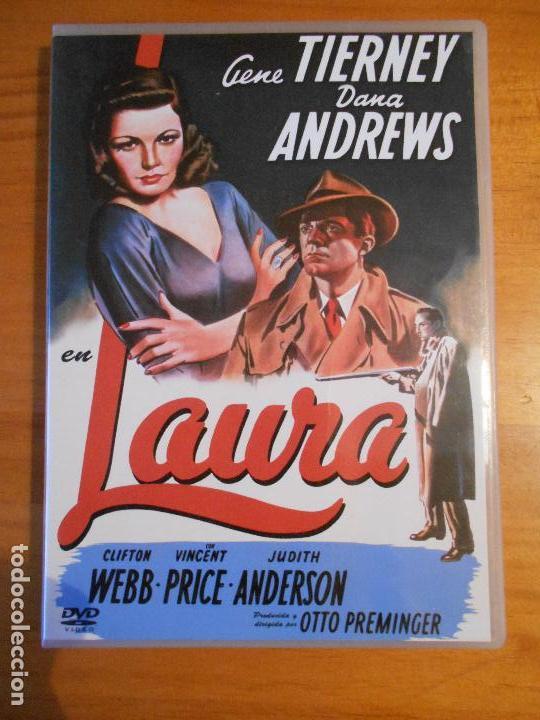 DVD LAURA - GENE TIERNEY - DANA ANDREWS (G8) (Cine - Películas - DVD)