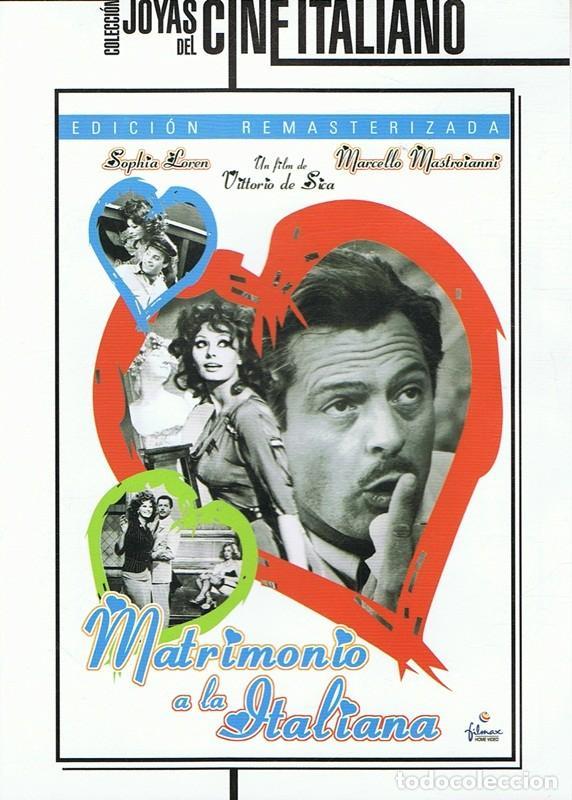 DVD MATRIMONIO A LA ITALIANA SOPHIA LOREN (Cine - Películas - DVD)