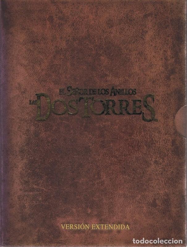 DVD EL SEÑOR DE LOS ANILLOS LAS DOS TORRES VERSIÓN EXTENDIDA ( 4 DISCOS) (Cine - Películas - DVD)