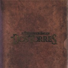 Cine: DVD EL SEÑOR DE LOS ANILLOS LAS DOS TORRES VERSIÓN EXTENDIDA ( 4 DISCOS). Lote 77337477