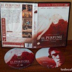Cine: EL PERFUME (HISTORIA DE UN ASESINO) - DIRIGIDA POR TOM TYKWER - DVD DOBLE EDICION ESPECIAL. Lote 77883201