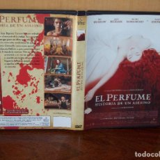 Cine: EL PERFUME (HISTORIA DE UN ASESINO) - DIRIGIDA POR TOM TYKWER - DVD. Lote 77883293