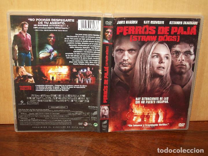 PERROS DE PAJA - JAMES MARSDEN -KATE BOSWORTH - DIRIGIDA POR RODLURIE - DVD (Cine - Películas - DVD)