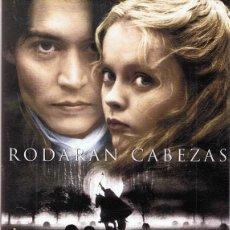 Cine: DVD SLEEPY HOLLOW (RODARAN CABEZAS) JOHNNY DEPP . Lote 100571547