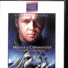 Cine: DVD MASTER& COMMANDER - RUSSELL CROWE. Lote 78187897