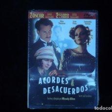 Cine: ACORDES & DESACUERDOS - DVD NUEVO PRECINTADO. Lote 78267229