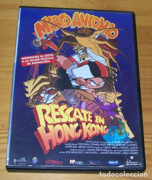 MARCO ANTONIO RESCATE EN HONG KONG -DVD- MERLIN ANIMACION, MIQUE BELTRAN... (Cine - Películas - DVD)