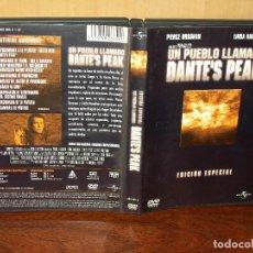 Cine: UN PUEBLO LLAMADO DANTE´S PEAK - PIERCE BROSNAN - LINDA HAMILTON - DVD EDICION ESPECIAL. Lote 293299948