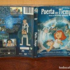 Cine: PUERTA DEL TIEMPO -DISEÑO ANTONIO MINGOTE - DIRIGIDA POR PEDRO E.DELGADO - DVD. Lote 262041230