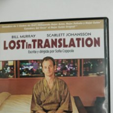 Cine: LOST IN TRANSLATION, CON BILL MURRAY Y SCARLETT JOHANSSON, DIRIGE SOFIA COPPOLA.. Lote 78341059