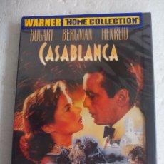 Cine: CASABLANCA. HUMPHREY BOGART-INGRID BERGMAN. EN FRANCÉS., INGLÉS ITALIANO. WARNER. SUB ESPAÑOL DVD. Lote 78354141