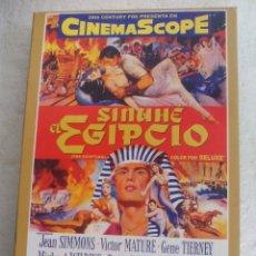 Cine: SINUHE EL EGIPCIO. PELICULA EN DVD. Lote 78672269