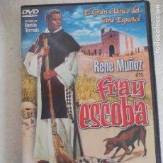 Cine: FRAY ESCOBA. RENE MUÑOZ. . RAMON TORRADO. .PELICULA EN DVD. Lote 78675173