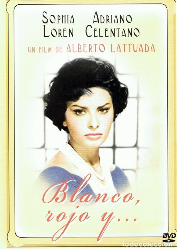 DVD BLANCO,ROJO Y ... SOPHIA LOREN (Cine - Películas - DVD)