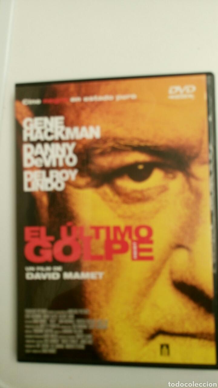 EL ÚLTIMO GOLPE, CON GENE HACKMAN, DANNY DEVITO Y DELROY LINDO. (Cine - Películas - DVD)