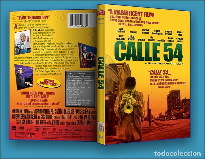 CALLE 54 ** DE FERNANDO TRUEBA CON MICHEL CAMILO,TITO PUENTE, BEBO VALDÉS, CACHAO ** COMO NUEVA ** (Cine - Películas - DVD)