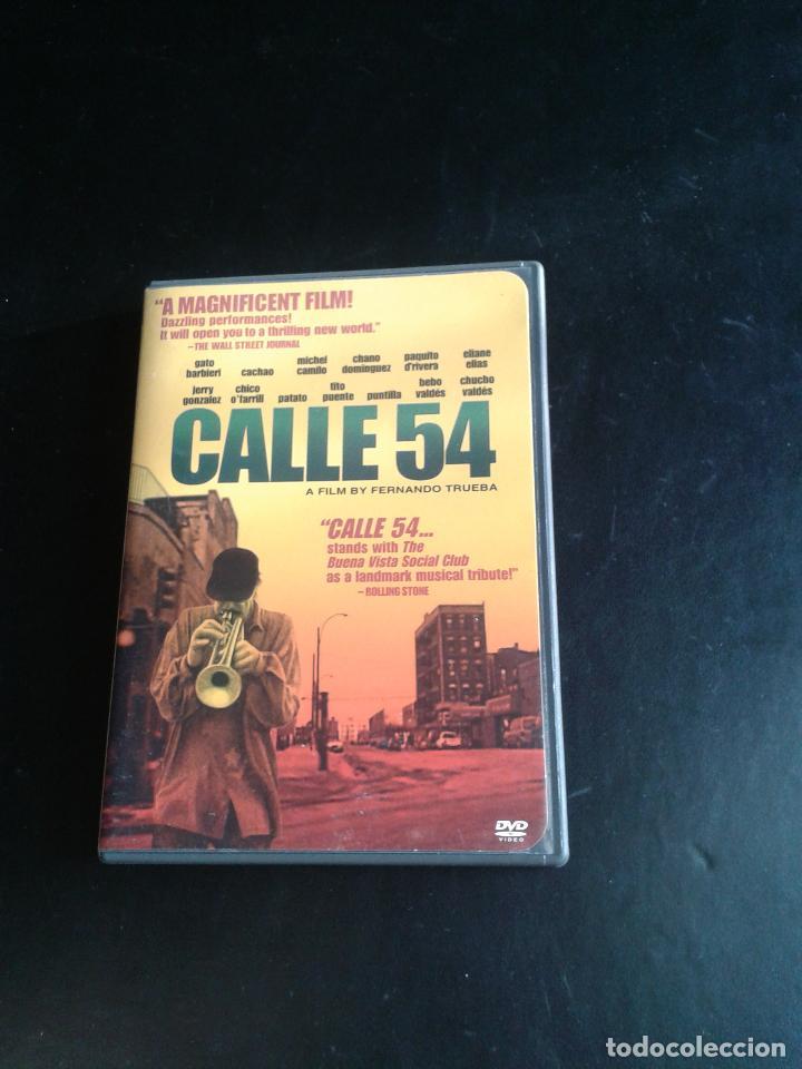 Cine: Calle 54 ** de Fernando Trueba con Michel Camilo,Tito Puente, Bebo Valdés, Cachao ** COMO NUEVA ** - Foto 2 - 92781734