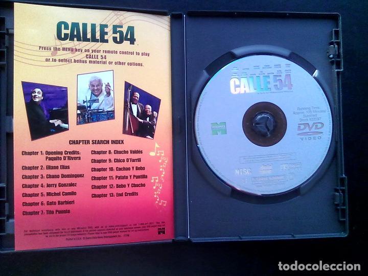Cine: Calle 54 ** de Fernando Trueba con Michel Camilo,Tito Puente, Bebo Valdés, Cachao ** COMO NUEVA ** - Foto 5 - 92781734