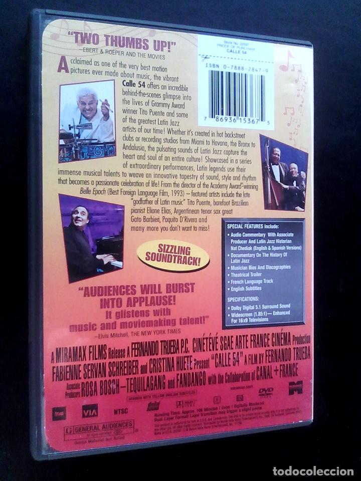 Cine: Calle 54 ** de Fernando Trueba con Michel Camilo,Tito Puente, Bebo Valdés, Cachao ** COMO NUEVA ** - Foto 6 - 92781734