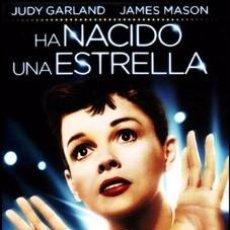 Cine: HA NACIDO UNA ESTRELLA - JUDY GARLAND, JAMES MASON, JACK CARSON DVD NUEVO. Lote 218398763