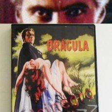 Cine: DRÁCULA - DVD PELÍCULA DE TERROR - CHRISTOPHER LEE - FISHER - CONDE VAMPIRO VAMPIRISMO BRAM STOKER. Lote 79179941