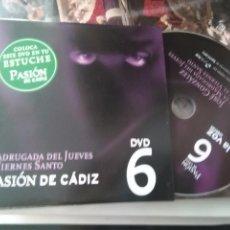 Cine: DVD SEMANA SANTA CADIZ PASION - N 6 MADRUGADA DEL JUEVES SANTO Y VIERNES SANTO . Lote 79209789