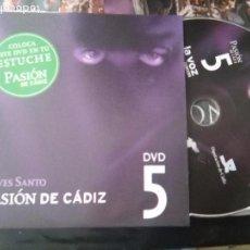 Cine: DVD SEMANA SANTA CADIZ PASION - N 5 JUEVES SANTO. Lote 79209813