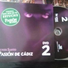 Cine: DVD SEMANA SANTA CADIZ PASION - N 2 LUNES SANTO. Lote 79209985