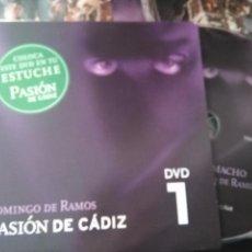 Cine: DVD SEMANA SANTA CADIZ PASION - N 1 DOMINGO DE RAMOS. Lote 79210125