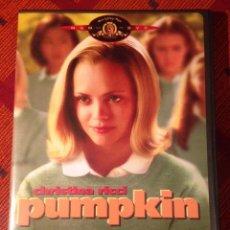 Cine: PUMPKIN. CHRISTINA RICCI. DVD ZONA 1. Lote 79348349