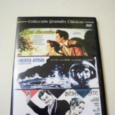 Cine: ALMAS DESNUDAS | CUENTA ATRÁS | BÉSAME KATE (DVD). Lote 79801689