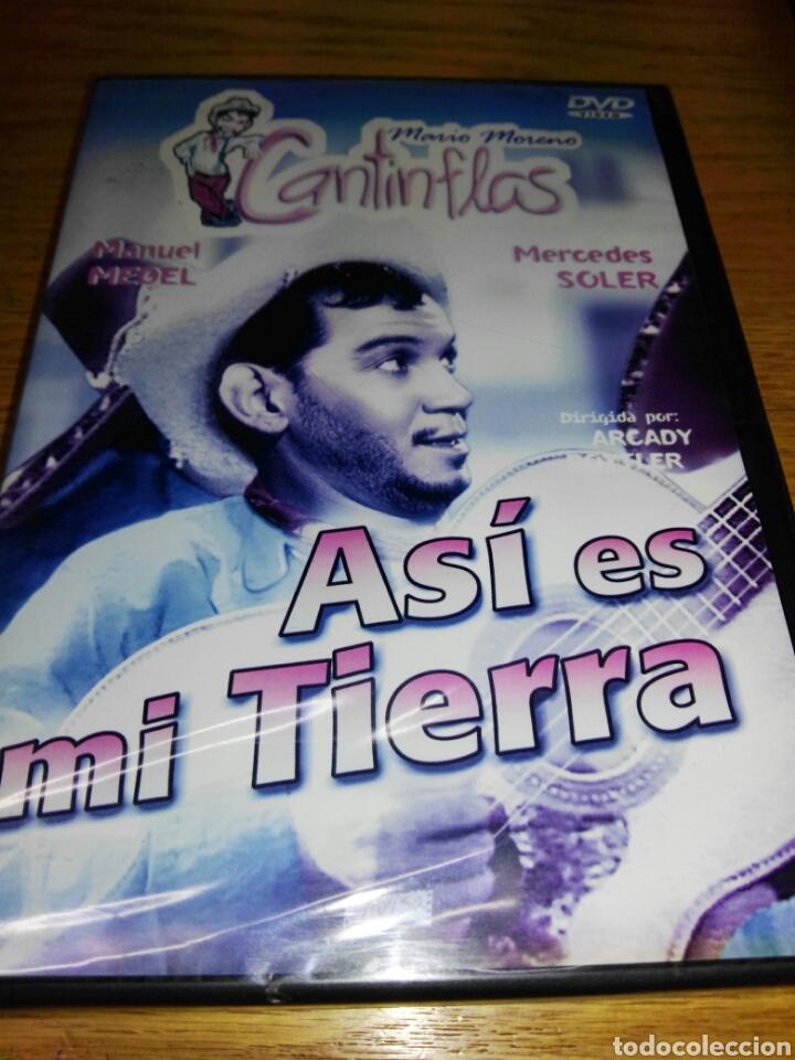 ASI ES MI TIERRA [DVD] MARIO MORENO CANTINFLAS (ACTOR), MANUEL MEDEL (ACTOR), ARCADY BOYTLER (DIRECT (Cine - Películas - DVD)