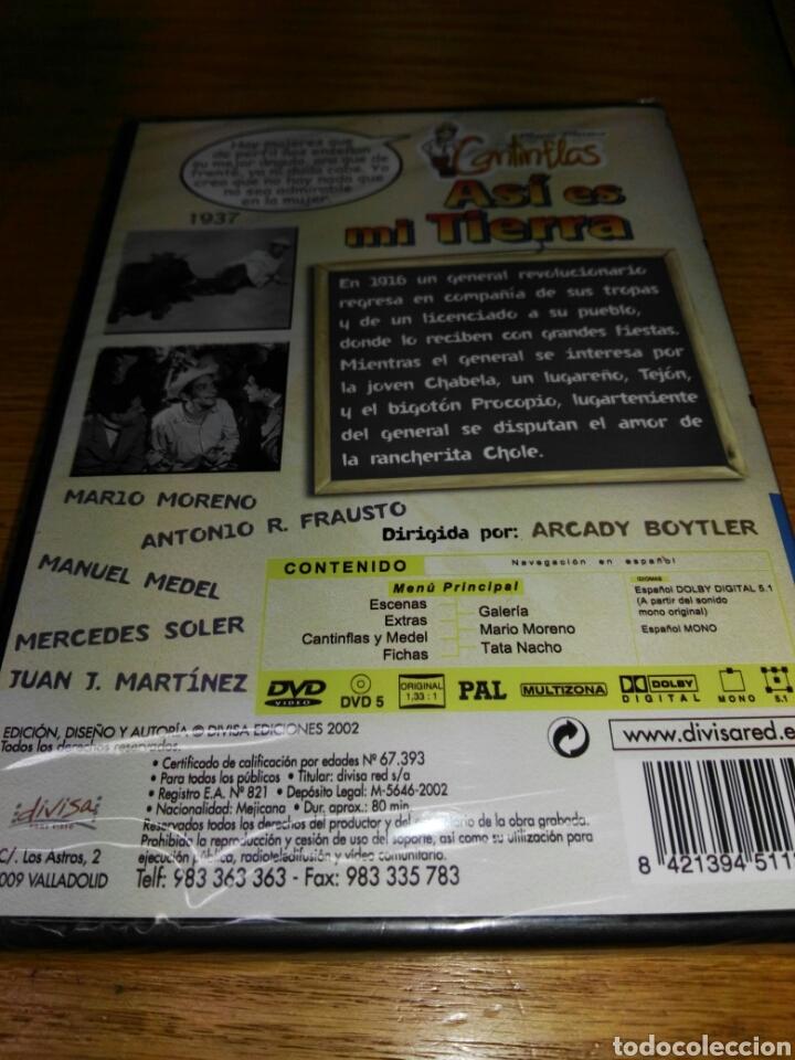 Cine: Asi es mi tierra [DVD] Mario Moreno Cantinflas (Actor), Manuel Medel (Actor), Arcady Boytler (Direct - Foto 2 - 35985285