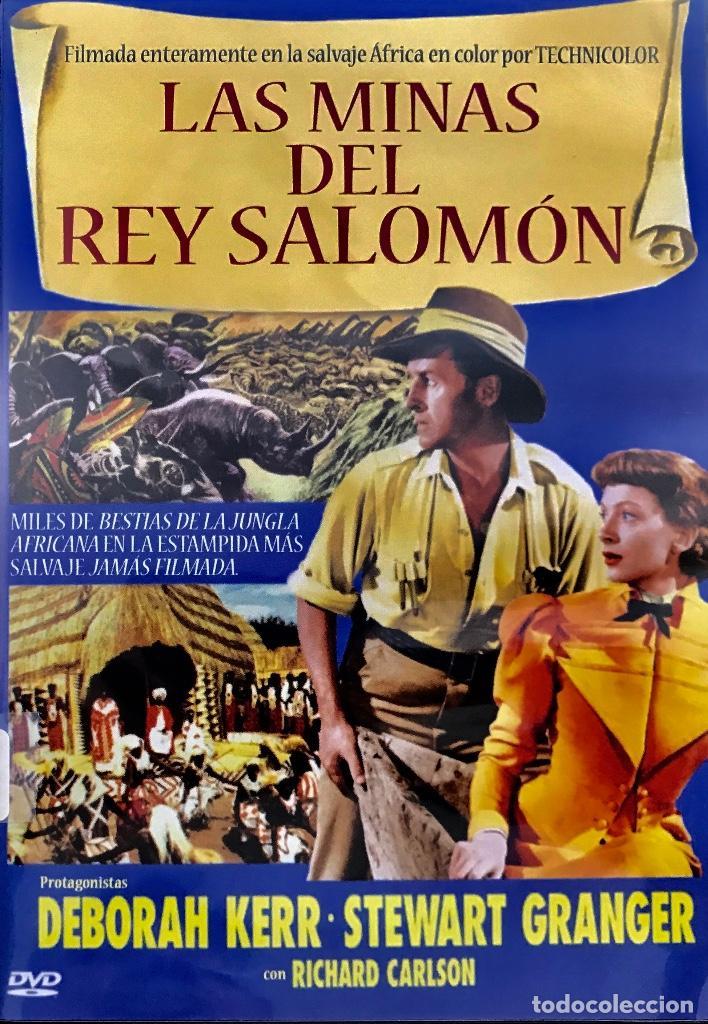 LAS MINAS DEL REY SALOMON- LA INOLVIDABLE Y CLÁSICA VERSIÓN CON DEBORAH KERR Y STEWART GRANGER. (Cine - Películas - DVD)