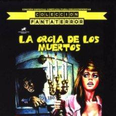 Cine: LA ORGÍA DE LOS MUERTOS EDICIÓN OFICIAL ESPECIAL 2 DVDS LIMITADA PARA COLECCIONISTAS PAUL NASCHY. Lote 131033179