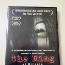 Cine: THE RING EL CÍRCULO (DVD). Lote 79990777