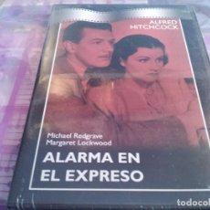 Cine: ALARMA EN EL EXPRESO ( ALFRED HITCHCOCK ) - PRECINTADO - SLIM. Lote 80003277