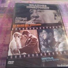 Cine: SABOTAJE - LA MUJER DEL GRANJERO( ALFRED HITCHCOCK ) - PRECINTADO - . Lote 80003729
