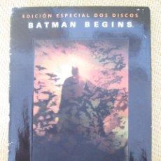 Cine: BATMAN BEGINS EDICION ESPECIAL 2 DVD. Lote 80006929